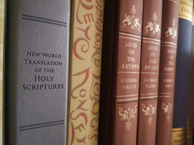 Jehovah's Witnesses Bible Binding