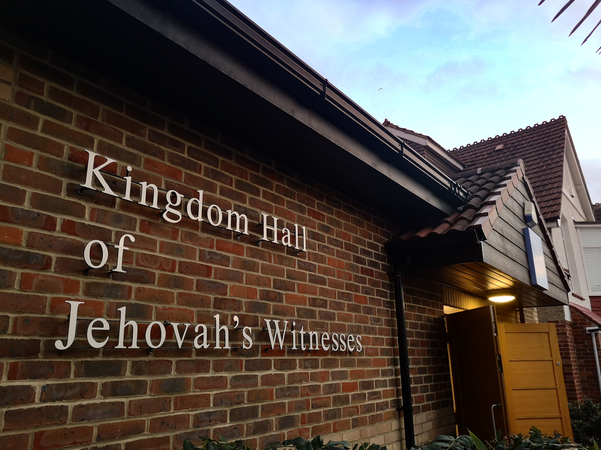 Kingdom Hall of the Jehovah's Witnesses