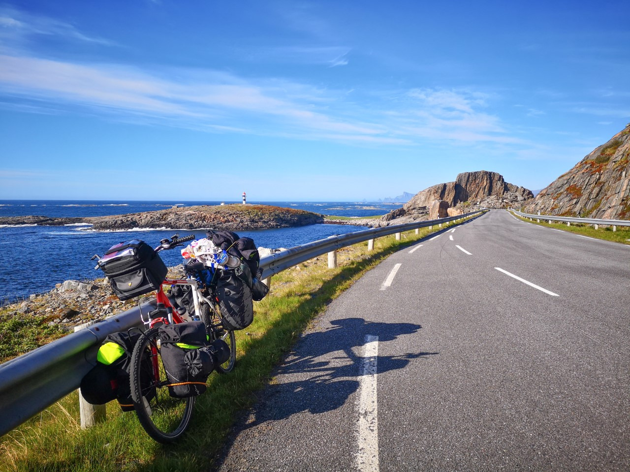 Cycle Touring Andøya, Norway