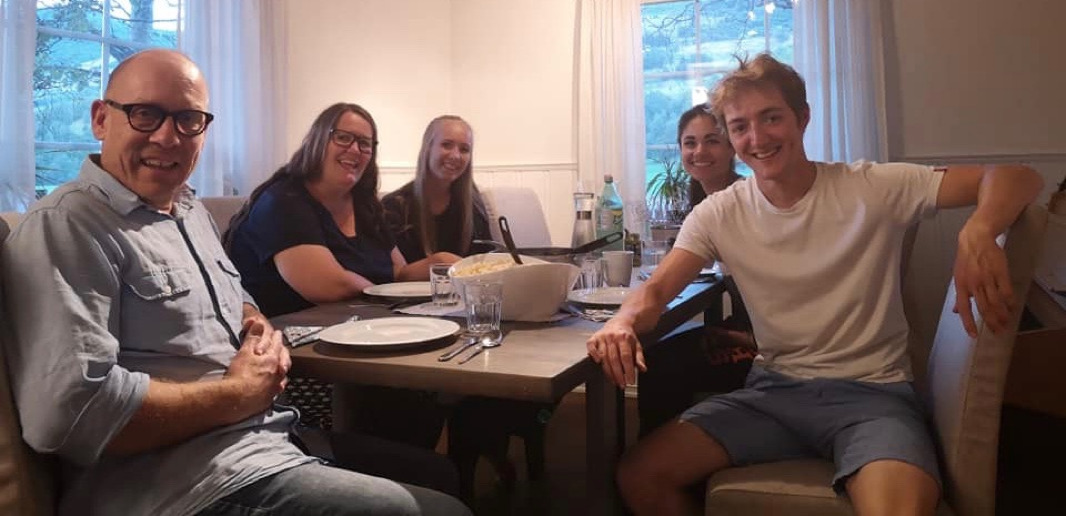 The Kindness of Strangers - Dinner with the Berg family