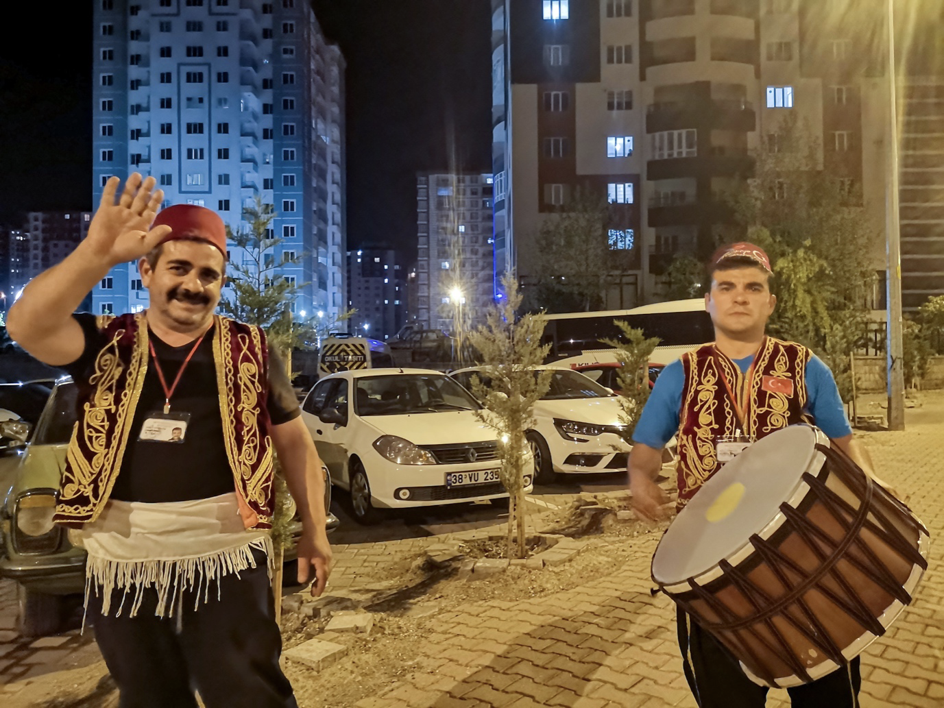 Ramadan drummers wake people up at 2am during the Islamic holy month