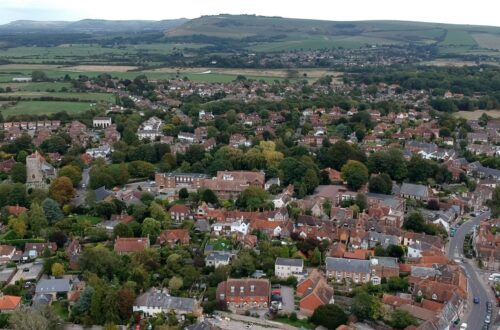 Steyning from Above